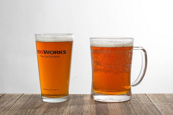 beer clean glassware