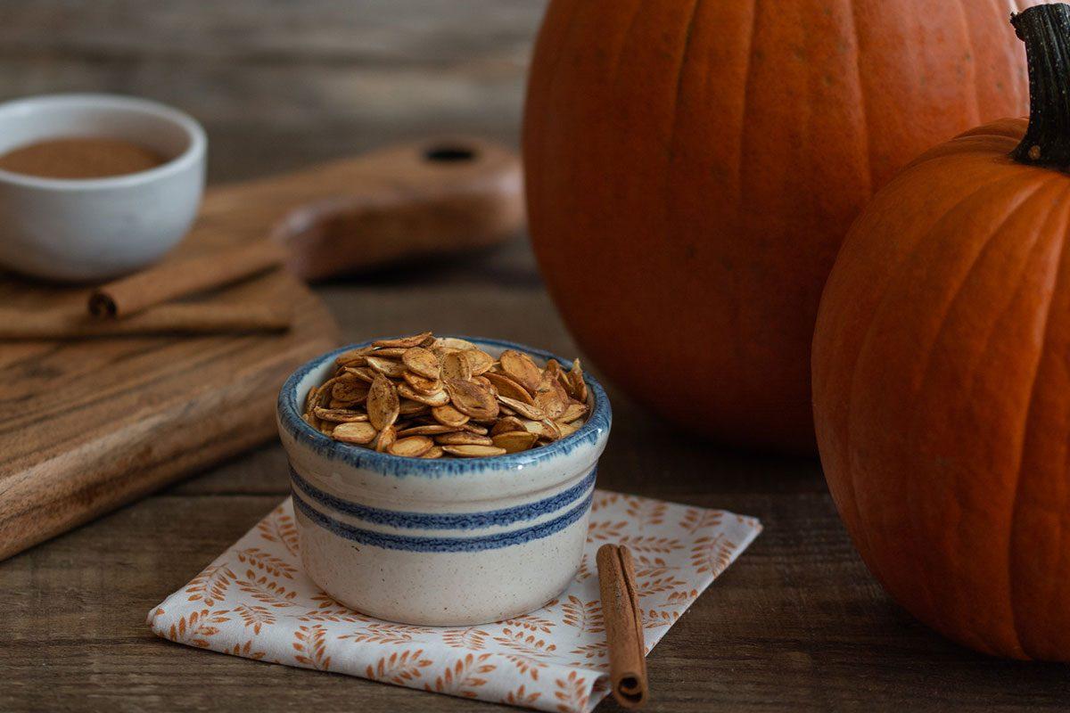 boozy pumpkin seeds recipe