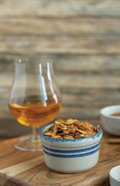 drunken pumpkin seeds with rum