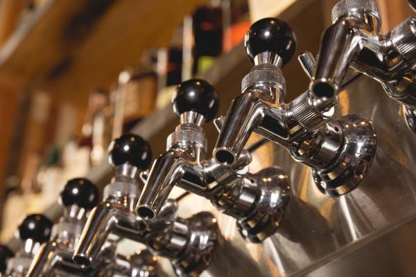 wall of draft faucets