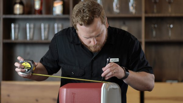 measuring a cooler