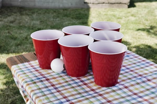 beer pong 6 cup formation
