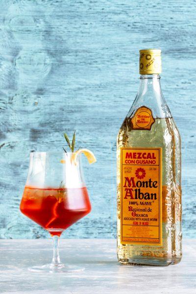 Smoked Autumn Mezcal Spritz Recipe