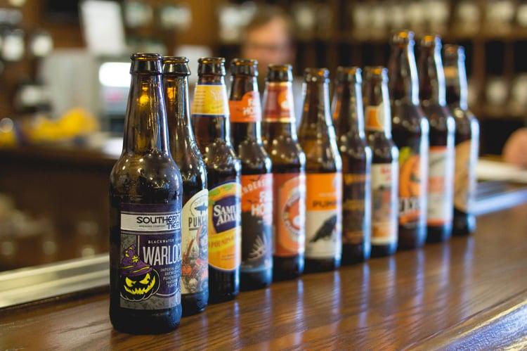 pumpkin beer lineup