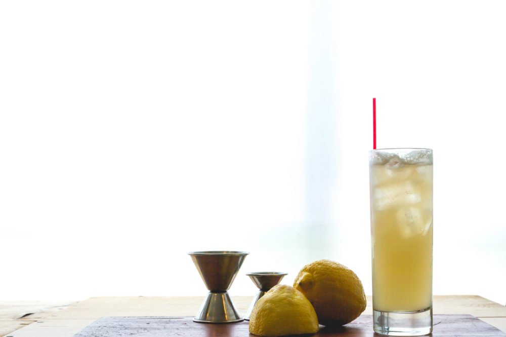 rattlesnake fizz cocktail