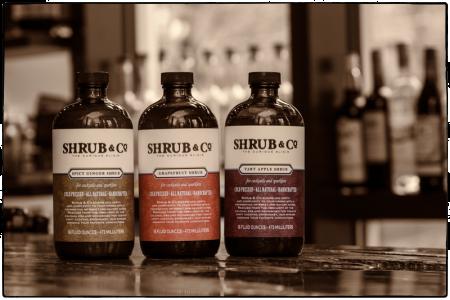 shrub and co shrub syrups 1