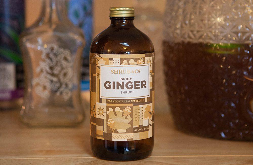 ginger shrub