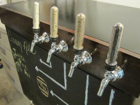 yeast vial tap handles