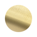 Brushed Brass Sample Finish