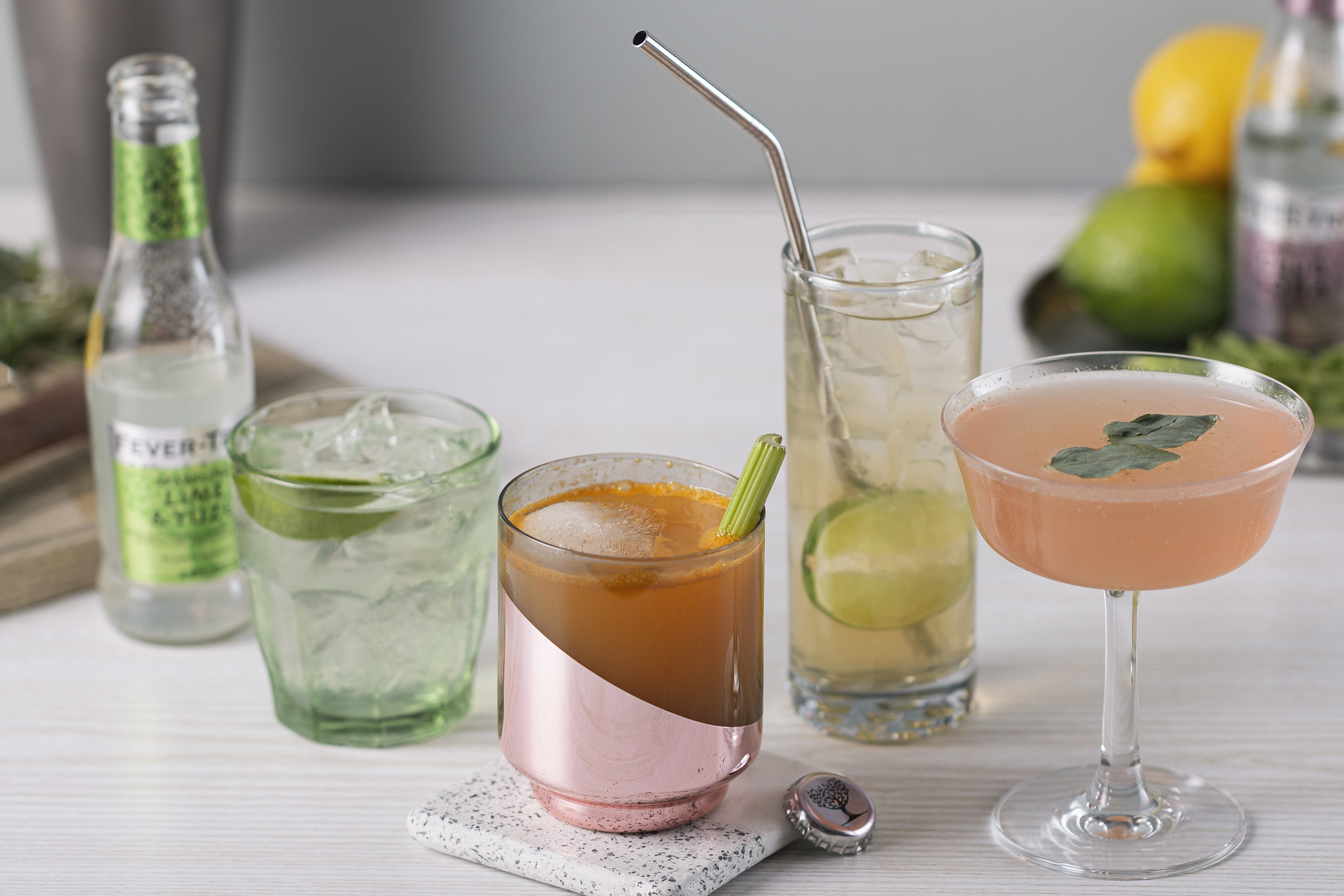 fever tree low calorie healthy cocktails