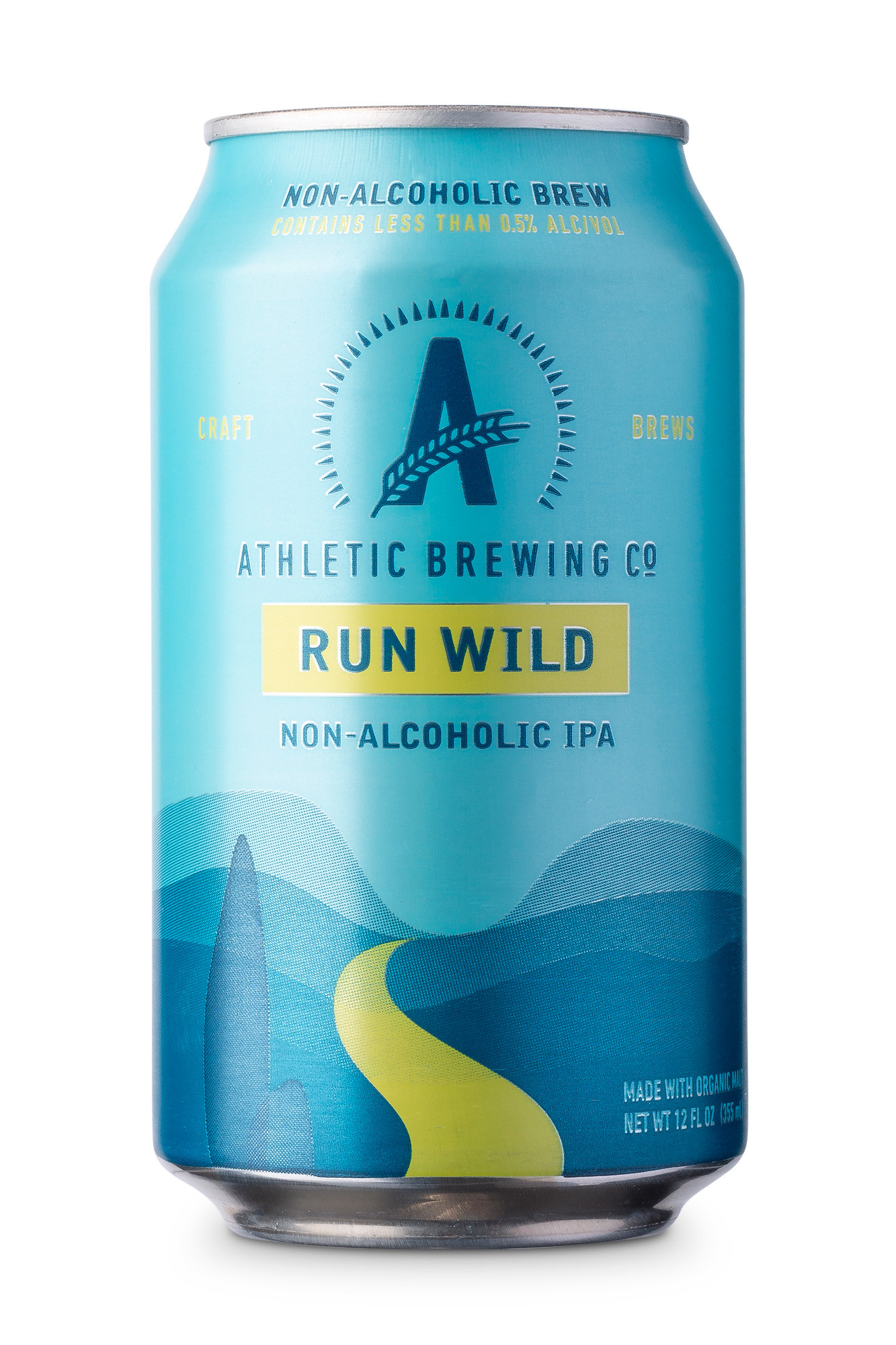 athletic non-alcoholic craft beer