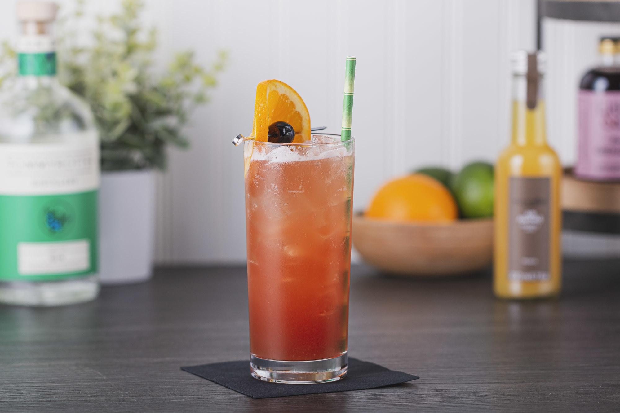 singapore sling tiki cocktail