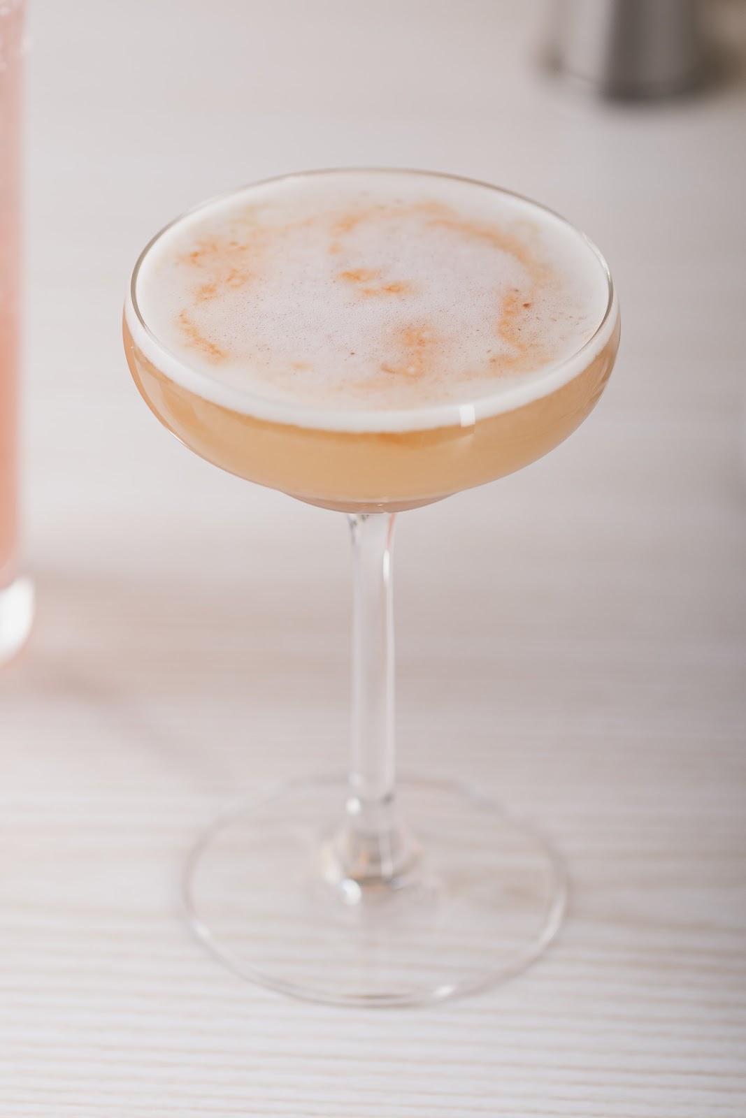 mezcal sour cocktail