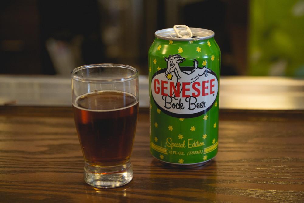 Genesee Bock Beer