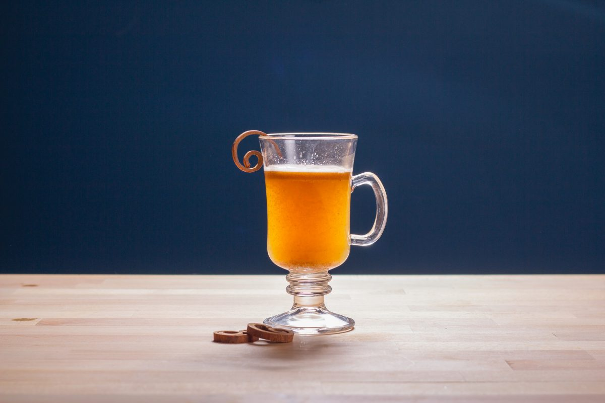 Hot Miso Brown Butter Rum Recipe Horizontal Shot