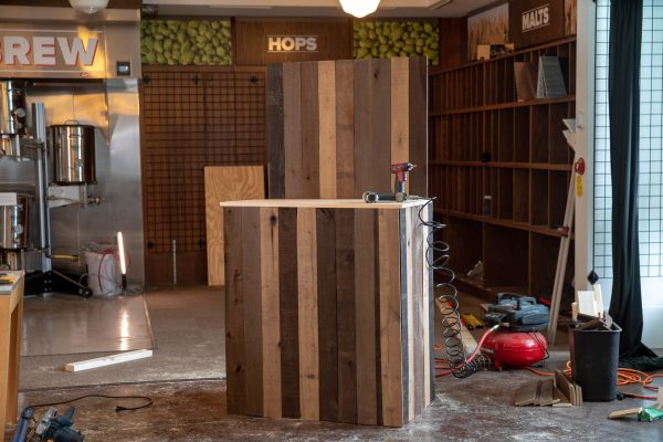 Building A DIY Wedding Bar