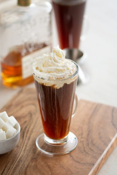 Traditional Irish Coffee Recipe Vertical