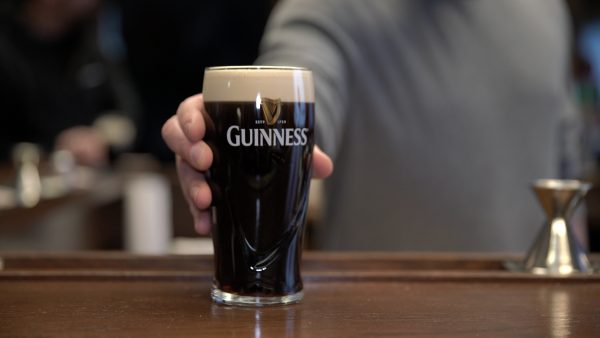 Guinness on draught: delicious.