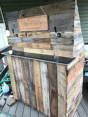 DIY Wedding Bar, Customer Photo 2