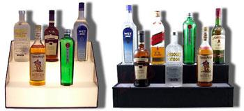Back Bar Bottle Shelves