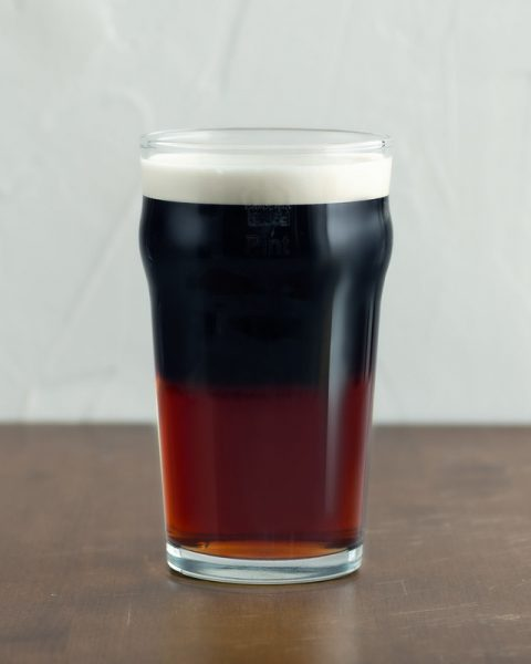 guinness black and red