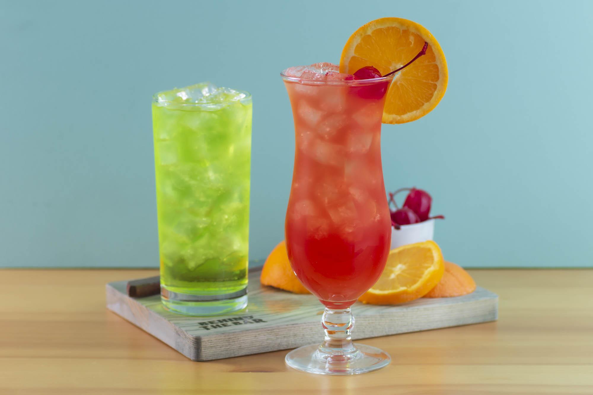 Hurricane And Hand Grenade Classic Mardi Gras Cocktail Recipes